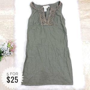 Max Studio Sheath Dress Army Green Size Medium C06